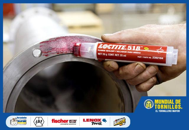 Loctite le ofrece selladores, lubricantes, adhesivos y limpiadores de la más alta calidad.