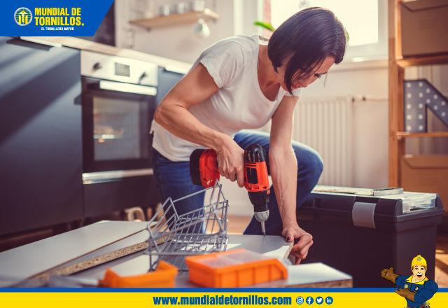 Aproveche el tiempo libre que le da esta época de aislamiento preventivo para hacer las reparaciones de su hogar.