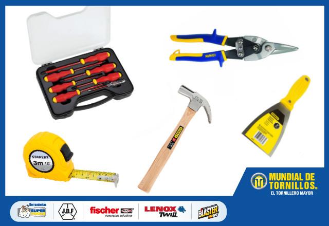 A medida que necesite realizar trabajos puede ir adquiriendo más elementos para su caja de herramientas.