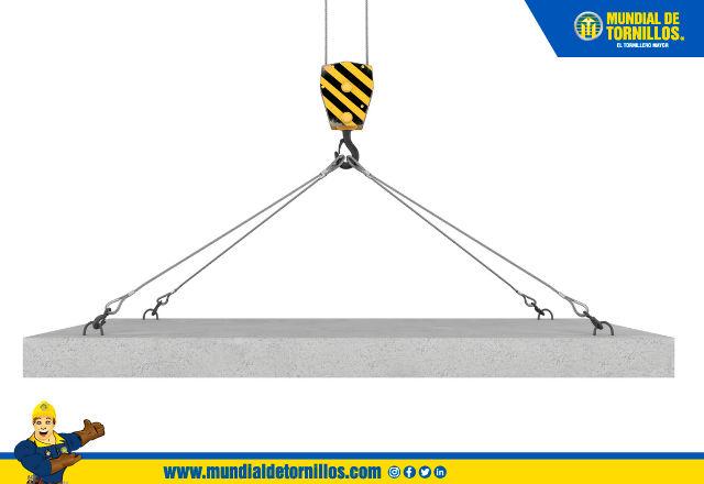 Mantener un registro de las eslingas de cables de acero le permite saber en qué momento se deben cambiar.