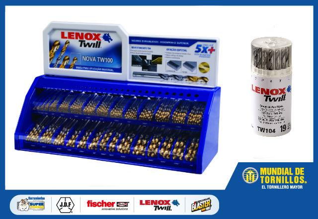 Brocas industriales de la marca Lenox Twill.