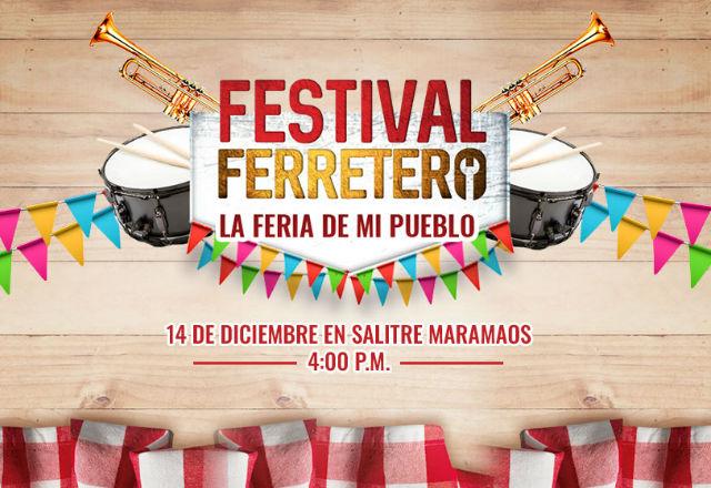 Disfrute al mejor estilo de una feria de pueblo este 14 de diciembre junto a Mundial de Tornillos.