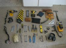 Conozca las herramientas que necesita para la construcción