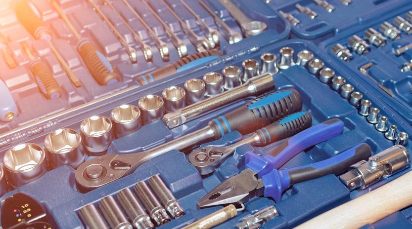 La caja de herramientas ideal | Mundial de Tornillos