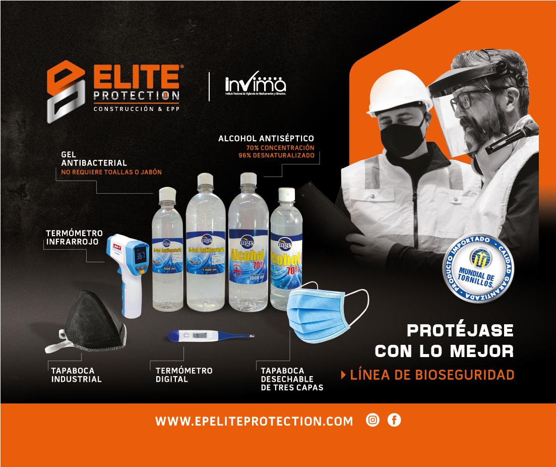 portafolio bioseguridad EP ELITE PROTECTION